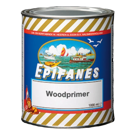 Epifanes Werdol Wood Primer, White, 750ml, WPW.750