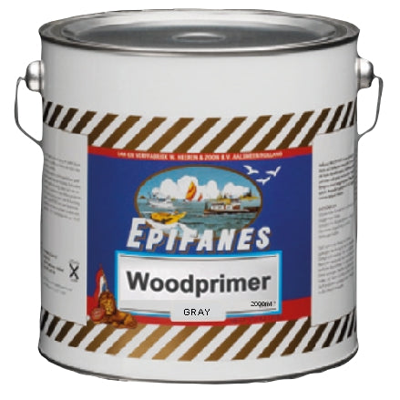 Epifanes Werdol Wood Primer, Gray, 2000ml, WPG.2000