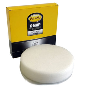 "Farecla G Mop 6"" Foam White Wet Use Compounding Grip Pad, GMC606"