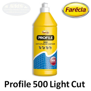 Farecla Profile 500 Light Cut Liquid Compound, 5L Jug