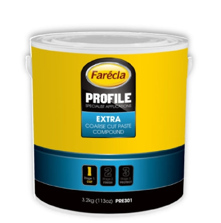 Farecla Profile Extra Coarse Cut Paste, 3.5kg, PRE301 (Formerly Profile 100)