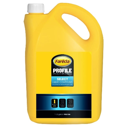 Farecla Profile Select Liquid Compound, 1 Gallon, PRS106