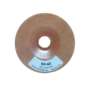 "Ferro 4.5"" Reinforced Phenolic Backing Plate with 7/8"" Hole, BP-45"