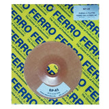 "Ferro 4.5"" Reinforced Phenolic Backing Plate with 7/8"" Hole, BP-45, 2"