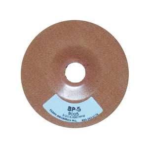 "Ferro 5"" Reinforced Phenolic Backing Plate with 7/8"" Hole, BP-5"