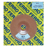 "Ferro 5"" Reinforced Phenolic Backing Plate with 7/8"" Hole, BP-5, 2"