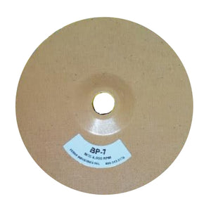 "Ferro 7"" Reinforced Phenolic Backing Plate with 7/8"" Hole, BP-7"