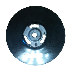 "Ferro 7"" Rubber Grinding Disc Backing Pad with Nut, 9927"