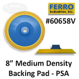 "8"" Medium PSA Backing Pad"
