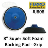 "8"" Super Soft Grip Backing Pad"