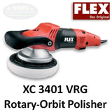 FLEX XC 3401 VRG Rotary-Orbital Polisher