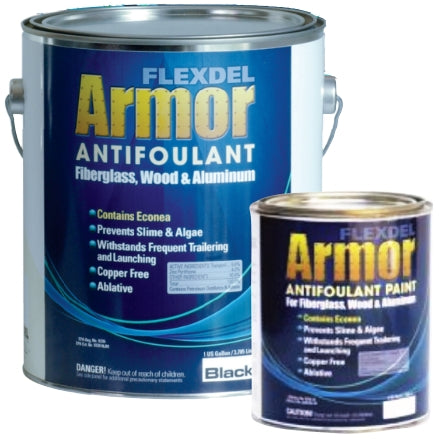 Flexdel Armor Advanced Copper-free Solvent-based Antifouling Boat Bottom Paint, 4