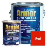 Flexdel Armor Advanced Copper-free Solvent-based Antifouling Boat Bottom Paint, Red