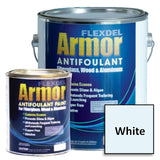 Flexdel Armor Advanced Copper-free Solvent-based Antifouling Boat Bottom Paint, White