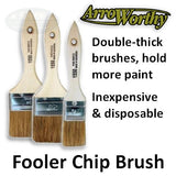 ArroWorthy Chip Double-Thick Fooler Brushes