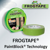 FrogTape Masking Tape with PaintBlock Technology