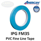 IPG American FM35 Fine Line Tape Collection