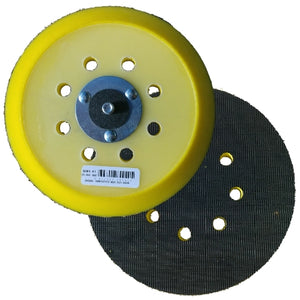 "Indasa 6"" 8-Hole Grip Backup Pad, 6004-8H"