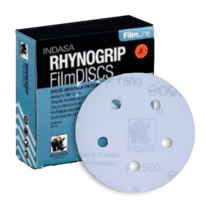 Indasa FilmLine Rhynogrip Vacuum Sanding Disc Collection