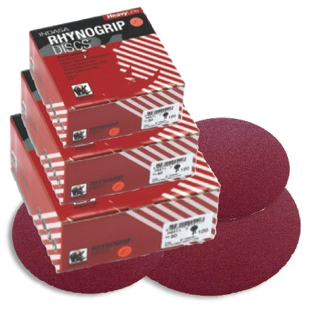 Indasa HeavyLine Rhynogrip Sanding Discs Collection