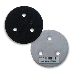 "Indasa 3"" 3-Hole Interface Foam Pad, 6703T-3H"