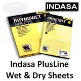 Indasa PlusLine Wet and Dry Sanding Sheets