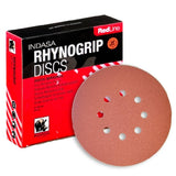 Indasa RedLine Rhynogrip Vacuum Sanding Discs Collection