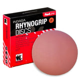 "Indasa RedLine Rhynogrip 6"" Solid Sanding Discs Collection"