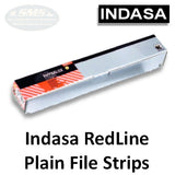"Indasa RedLine Rhynalox 2.75"" x 17.5"" Plain-Back Sanding Board Sheets, 900 Series"