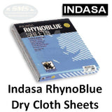 Indasa RhynoBlue Cloth Sanding Sheets, 8 Series