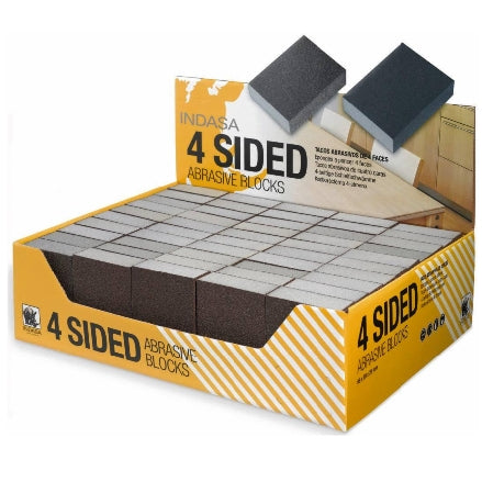 Indasa Four Sided Hand Sanding Block, 3200B