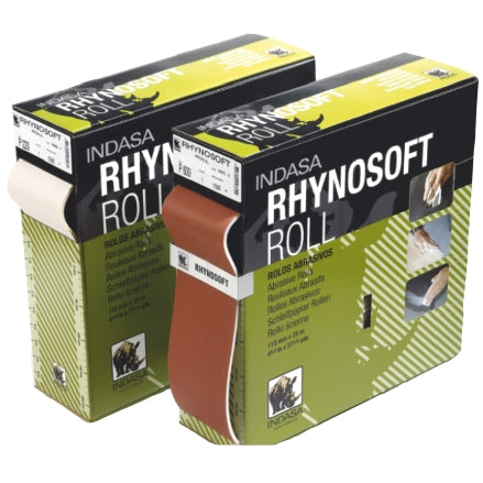 Indasa Rhynosoft Foam Hand Sanding Pads, Continuous Roll, 3700R Series