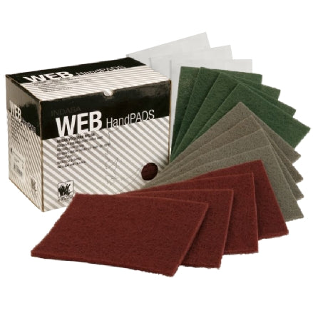 Indasa Scuff Web Hand Pads, Boxed, 8500 Series