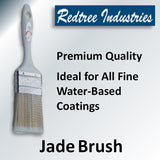 Redtree Jade Brushes for Water-Based Coatings