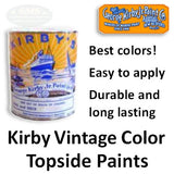 Kirby Vintage Color Marine Topside Paints
