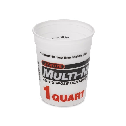 Leaktite 1 Quart Multi-Mix Containers, 3