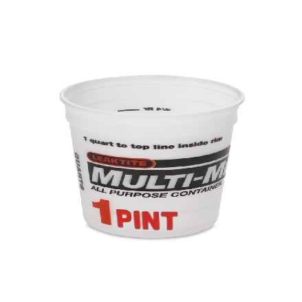 Leaktite 1 Pint Multi-Mix Container, 1M3