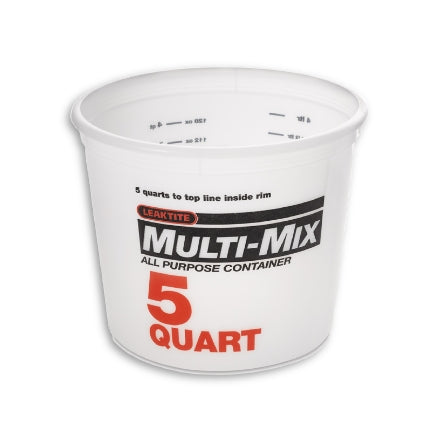 Leaktite 5 Quart Multi-Mix Container