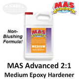 MAS Medium Hardener, Non-Blush Formula