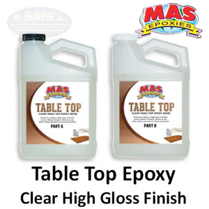 MAS Table Top Clear Epoxy
