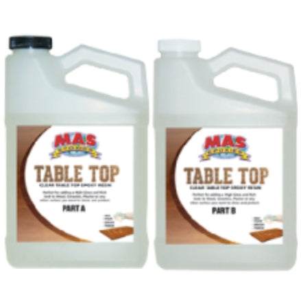 MAS Table Top Clear Epoxy Kits