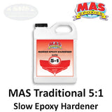 MAS Epoxies 5:1 Traditional Slow Hardener