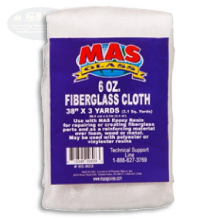 MAS Epoxies 6 ounce Fiberglass Cloth