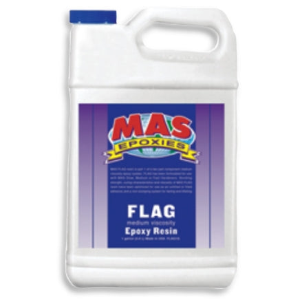 MAS FLAG Medium Viscosity Epoxy Resin, Non-Blushing Formula