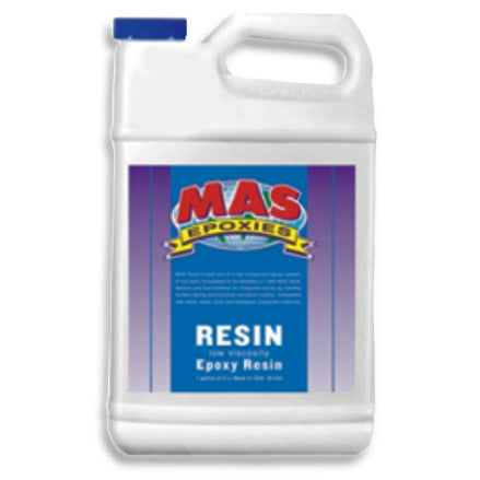 MAS LV Low Viscosity Epoxy Resin, Non-Blushing Formula