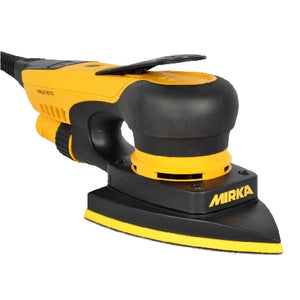 "Mirka DEOS Delta 4"" x 6"" x 6"" Electric Sander 663XCV 3.0mm Orbit, MID6630201US, 5"