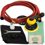"Mirka 5"" 5mm Self-Generating Vacuum RO Sander, MR-5SGV with replacement disposable dust bags"
