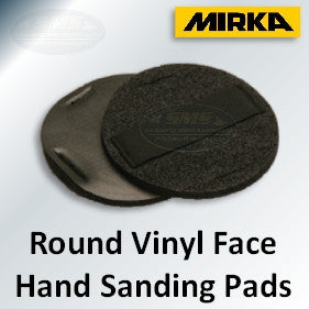 Mirka Vinyl Face Hand Sanding Pad with Strap