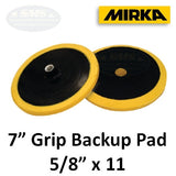 "Mirka MPADBU7 7"" Grip Backup Plate for Buff Pads"