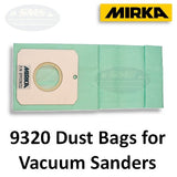 Mirka #9320 Dust Bags for Self-Generating Vacuum Sanders